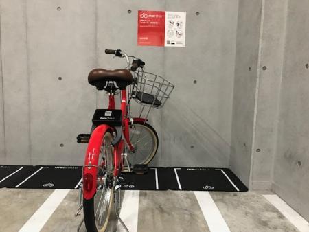手軽に使えるシェアサイクル